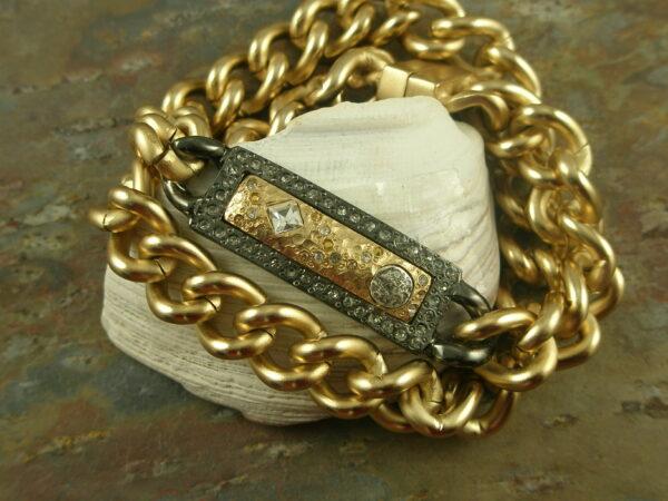 Magnetic BraceletMy ID Double Wrap -0