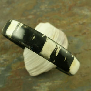 Shed Buffalo Horn Bangle BraceletSee The Night-0