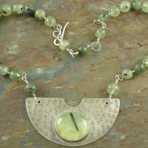 One Of A Kind Stone NecklaceLightening-0