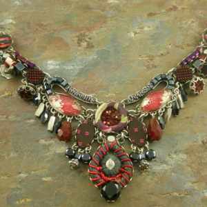 Israeli Ayala Bar's Handcrafted Eclectic NecklaceOh Scarlet!-0