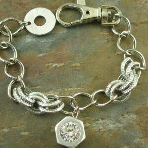 Handcrafted Fashion Link BraceletCharm Me-0