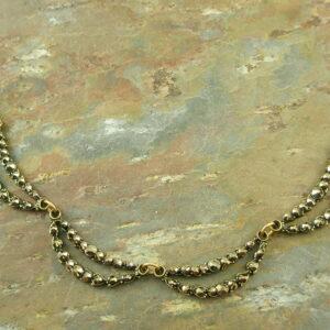 Swarovski Crystal Vintage Style NecklaceThe Wave-0