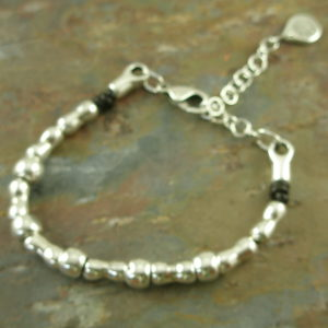 Handcrafted Silver Plated Layering BraceletI'm Single-0