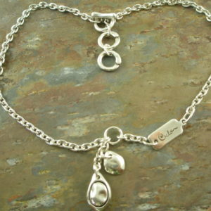 Handcrafted Silver Plated Charm NecklaceBe Charmed-0
