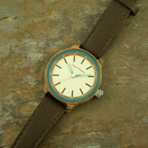 Leather Watch Two Toned FaceFooler-0