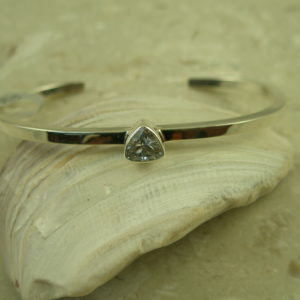Contemporary Handcrafted Cuff BraceletTrillion-0