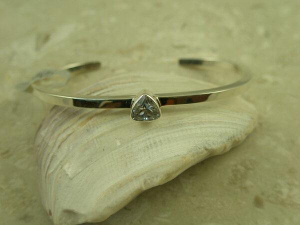Contemporary Handcrafted Cuff BraceletTrillion-0