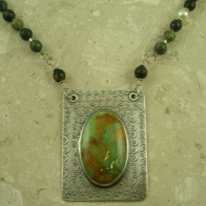 One Of A Kind Southwestern NecklaceFramed!-0