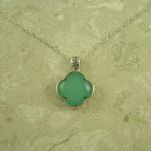 Handcrafted Chalcedony NecklaceToo Sweet-0