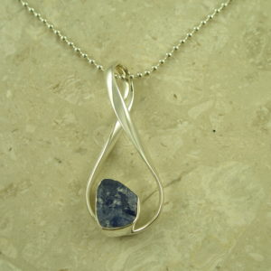 Lilly Barrack Tanzanite NecklaceBig Purple-0