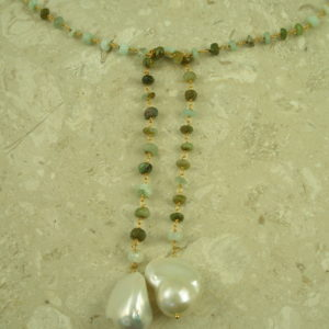 Opal And Pearl LariatFresh Greens-0