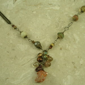 Original Eclectic Handcrafted Charm NecklaceMixed In-0