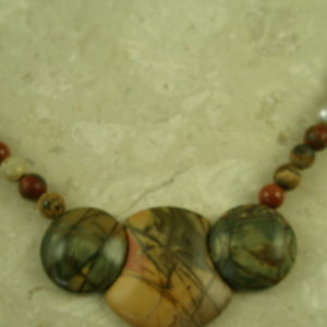 Jasper Stone Beaded NecklaceJust Say Jasper-0
