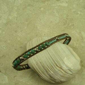 Handcrafted Beaded BraceletSingle One-0
