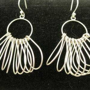 Sterling Silver Original Artisan EarringHoops-0