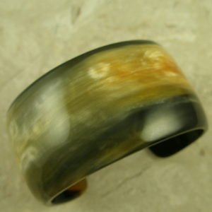 Unique Handcrafted Buffalo Horn Cuff BraceletLike Art-0