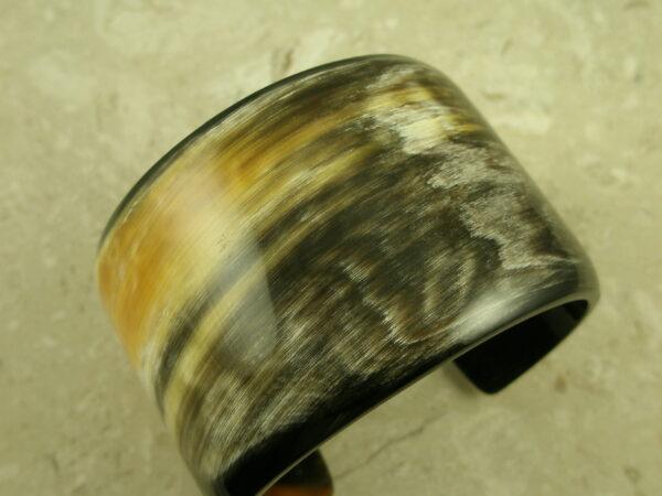 Buffalo Horn Wide Cuff Statement BraceletBe Bold-0