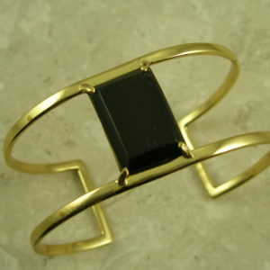 Brass Open Cuff BraceletWide Open Spaces-0