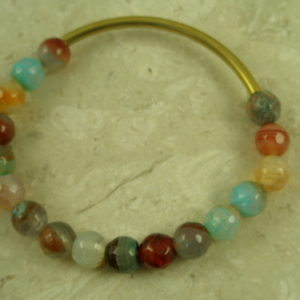 Mixed Stone Stretch BraceletMixed Bag-0