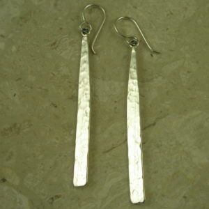 Sterling Silver Long Dangle EarringSticks-0